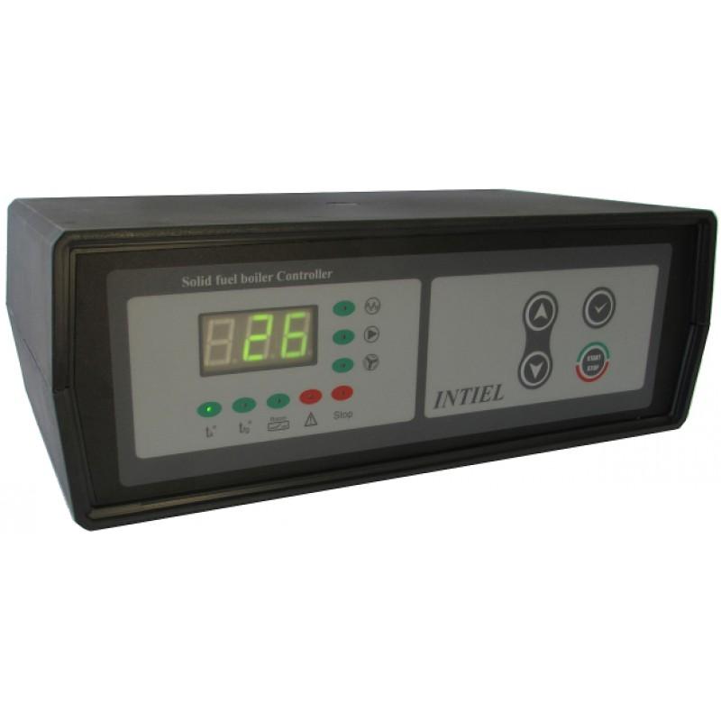 Контролер за управление на котел с твърдо гориво Intiel