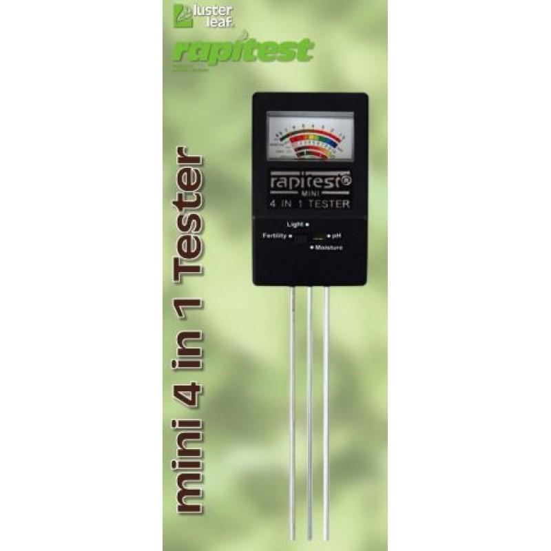 Почвен мини тестер Luster Leaf  4-канален